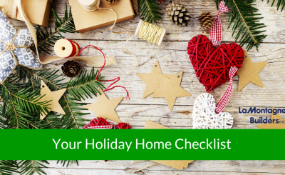 Your Holiday Home Checklist